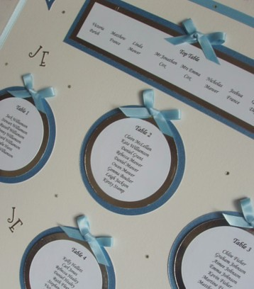wedding table plan guise