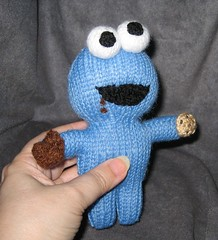 Cookie Monster in My Hand