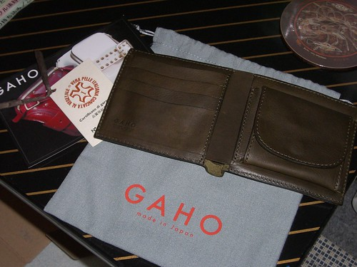 GAHO Leather Wallet