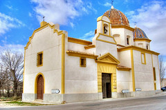 Ermita de Jumilla (marathoniano) Tags: city travel españa church landscape spain village iglesia murcia espagne hdr globalvillage ermita cubism peopleschoice sanagustin jumilla marathoniano aplusphoto