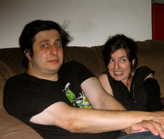 Eugene Mirman and Alina Simone