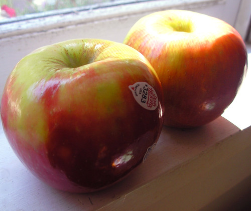 The Honey Crisp Apple