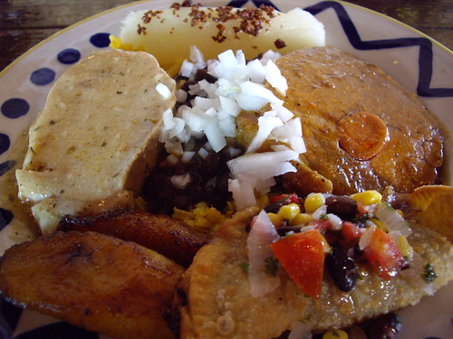 Columbia Cubano Completa Platter