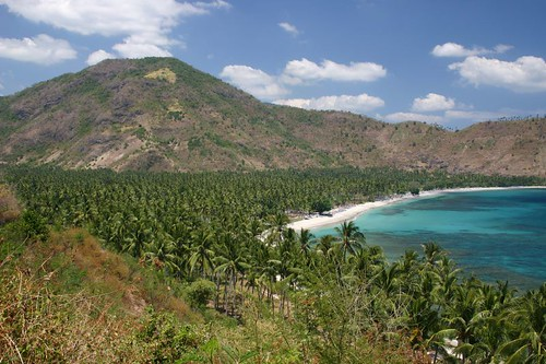 Cycling at its most beautiful. Western Lombok.