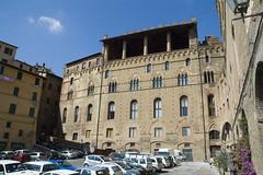 Siena: retro di Palazzo Pubblico