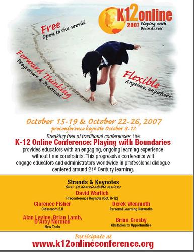 K12 Online Conference Poster