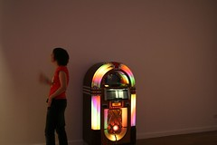 Time for a last minute dance (Ellie Harrison) Tags: party cake jukebox closingparty angelrow ellieharrison angelrowgallery alexanderstevenson