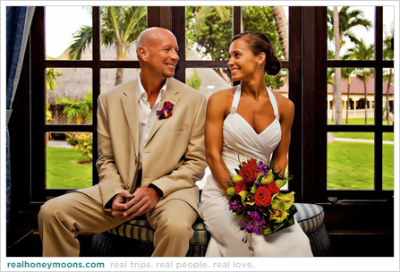 Carla & Tad - Aruba destination wedding