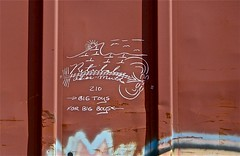"Retribalize 210 "" Big Toys For Big Boys "" (mightyquinninwky) Tags: railroad art train bench graffiti streak tag graf tracks railway tags tagged railcar graffitti rails boxcar graff graphiti trainyard 210 kcs trainart rollingstock paintedtrain freightyard railart spraypaintart moniker ohiorivervalley movingart benched benching taggedtrain boxcarart adiosmutha retribalize bigtoysforbigboys rollingart taggedboxcar paintedboxcar mightyquinninwky mightyquinninlex paintedrailcar taggedrailcar artbombs bigtoysforbigboys"