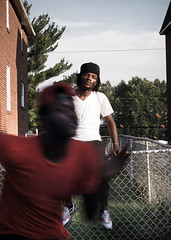 Runnin Down A Dream (Kirk Smith.) Tags: portrait music usa blur graveyard canon fence drive coast maurice gang running smith gritty east cash madison delaware newark hip hop rap swish pick maddi tamron ghetto kirk 30d mcgirt gyg millionz