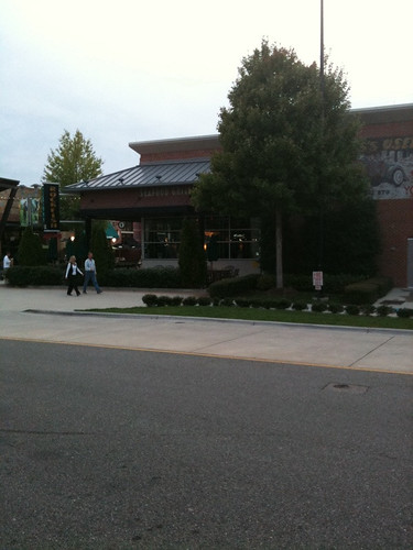 The outside of Rockfish Seafood Grill