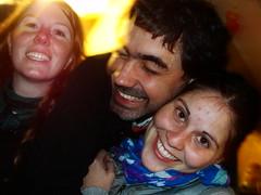 Joanna, Pato y Romi