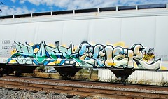HUFR x ELIER (_:MemphisOrDie:_) Tags: train bench nbc graffiti memphis tennessee huf bos freight fr8 bosk benching