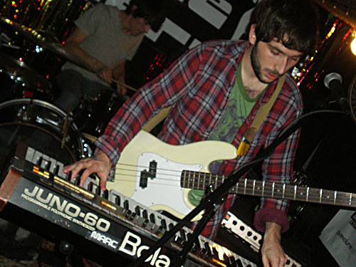 Dinowalrus at Cake Shop, CMJ, October 22, 2010
