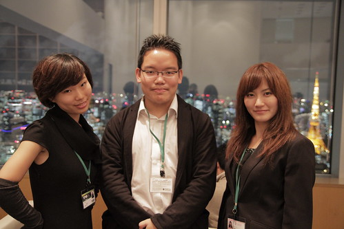 With Qian Qian and Yukiko the Volunteer