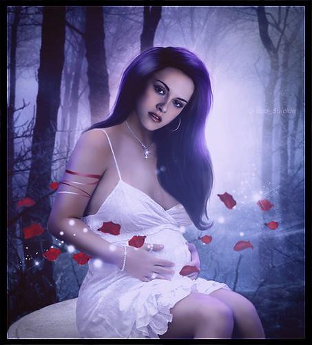 Twilight Saga: Breaking Dawn {Bella's pregnancy} by Boo_Suicide