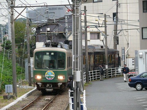 江ノ電リバイバルカラー21F+1502F@鎌倉
