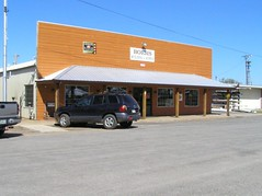 Small town storefront