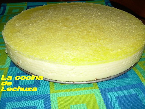 Pastel limón lateral