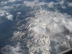 In-flight mountains, #2