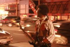 Jimi at Hollywood Boulevard