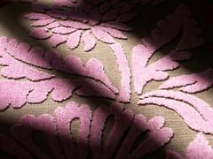 fuzzy (Mamluke) Tags: pink sun sunlight flower texture textura fleur rose furniture flor rosa velvet fabric cloth tageslicht sunlit blume fiore trapo sunbeam raised zonlicht roze upholstery gewebe beschaffenheit tela tissu stoffa stoff textuur lumiredusoleil stof tessuto toffe luzdelsol mamluke lucesolare