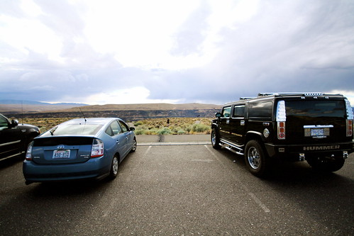 The Hummer/Prius Divide