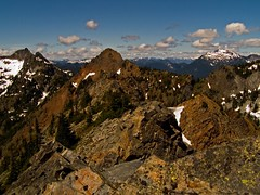 Red Mt and Lundin Peak from Kendall