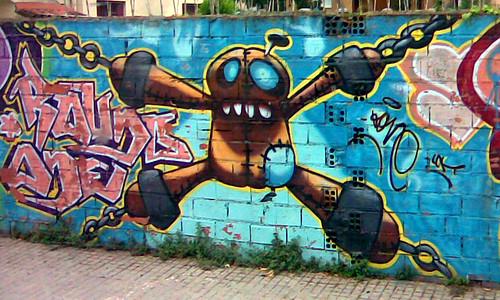 Прикольные картинки, фото: графити
