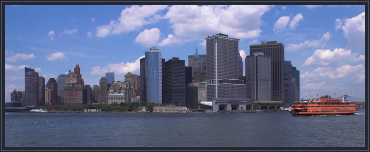 Downtown of NY