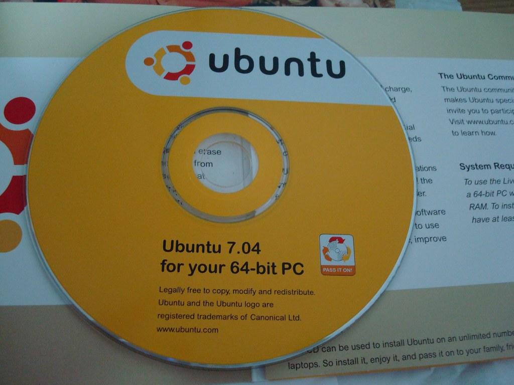 Ubuntu 7.04 64bit