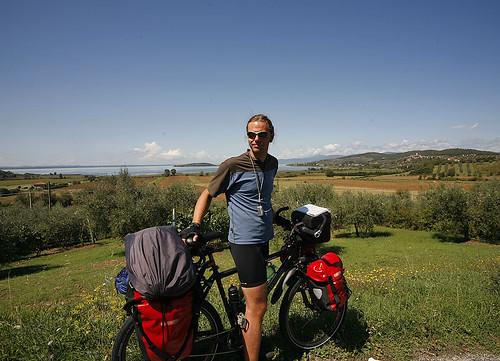 Lago en Umbria
