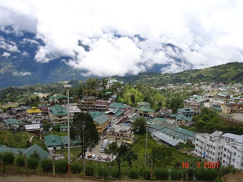 Tawang a bird's eye view