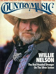Willie Nelson In Country Music Magazine Janfeb 1987 Www