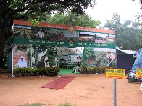 Nat'l Horticulture Mission Stall