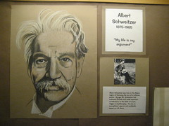 Albert Schweitzer exhibit