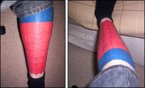 Nerd Tattoo Of The Month. August 25th, 2007 | comics talk