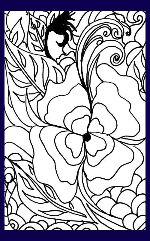 okeefe coloring pages - photo #10