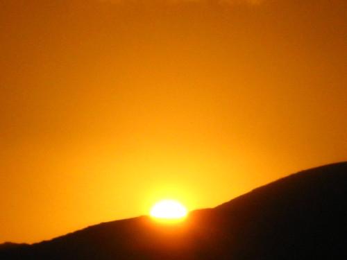 φωτογραφια με ηλιοβασίλεμα απο κρητη 2007