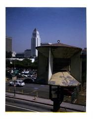 CD City Hall (Echo_29) Tags: polaroid losangeles cityhall civildefense 690 polaroid690 soontobegone airraidsiren lacds southolivetemple siren093 lacds93