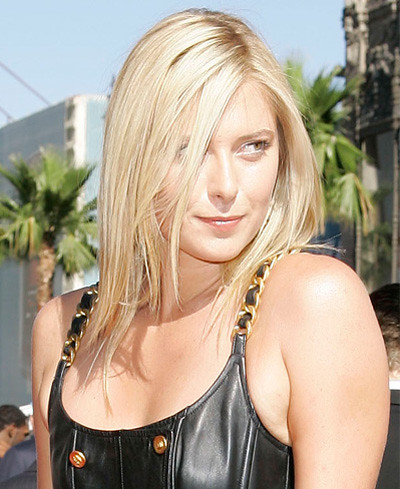 Maria Sharapova Hairstyle maria sharapova hair