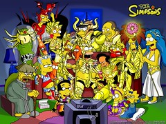los simpson saint seiya (cat_city) Tags: saintseiya lossimpsons