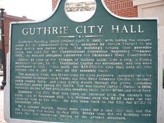 Exploring Oklahoma History: Guthrie City Hall