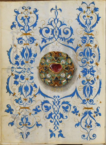 Jewel Book of the Duchess Anna of Bavaria (1550s) u