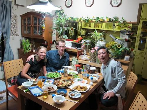 Me, Vicky, and Yoshida-san