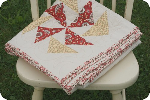 pinwheel sampler. {quilt along.}