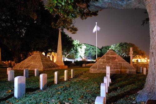 Pyramids at the SA National Cemetery