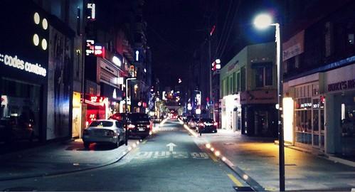 새벽2시의 압구정  로데오 거리. #urbanphoto #seoul