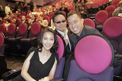 With Yoshino Kimura, Tokyo Intl Film Fest ambassador