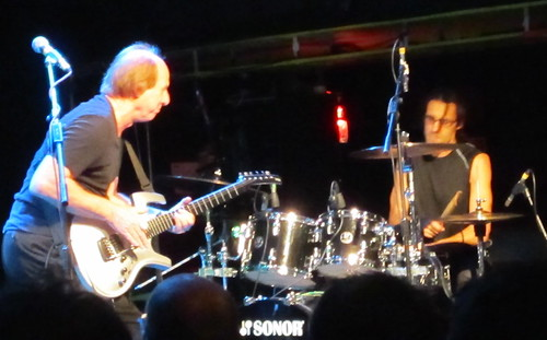 Adrian Belew and Tobias Ralph in London